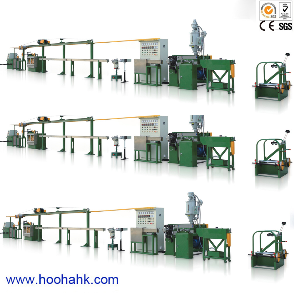 Building Power Cable Wire Extruder Machine