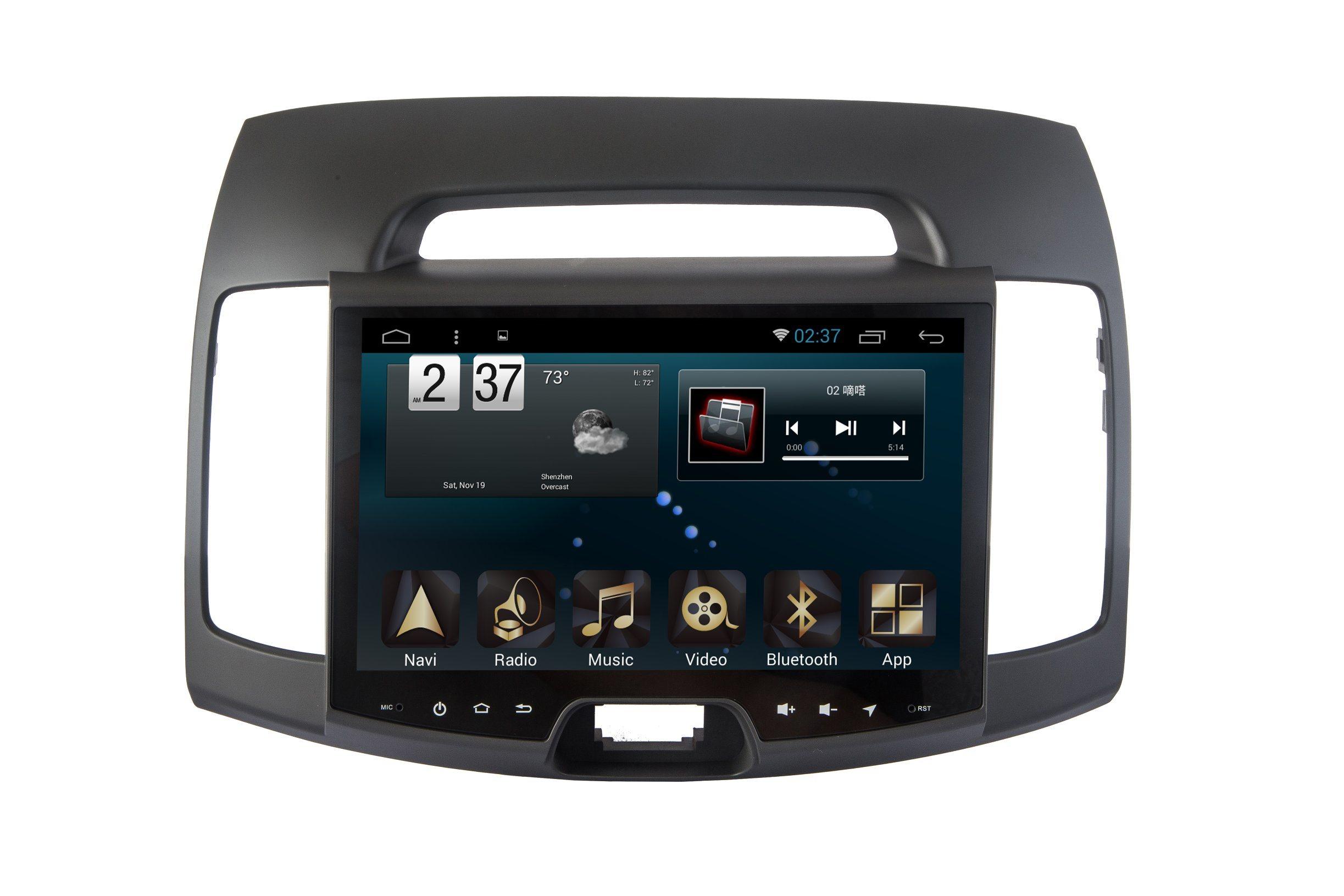 New Ui Android 6.0 Car Player for Hyundai Elantra 2015 with Car GPS
