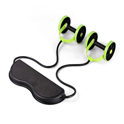 Fitness Ab Exercise Abdominal Ab Roller Machine