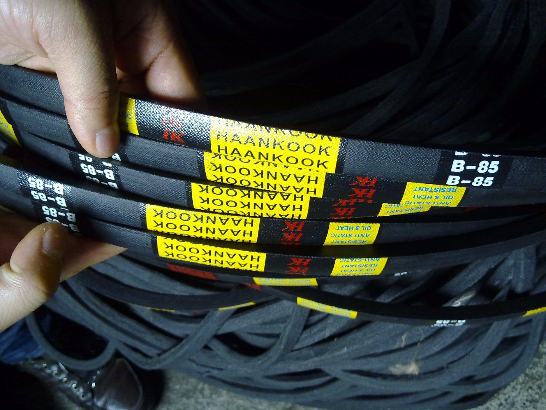 Wrapped V-Belt a, B, C High Wearability