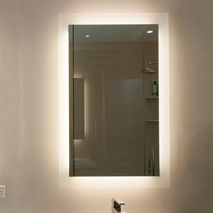 Us Hotel Modern Vanity Mirror Custom Backlit Bathroom Mirror