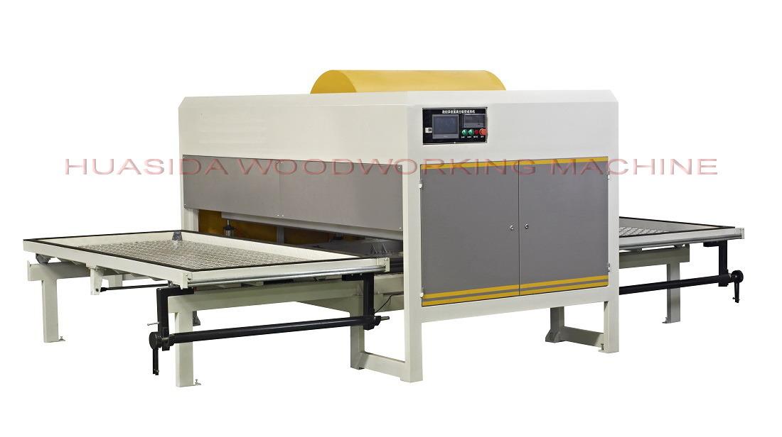 45KW woodworking vacuum film coating machine