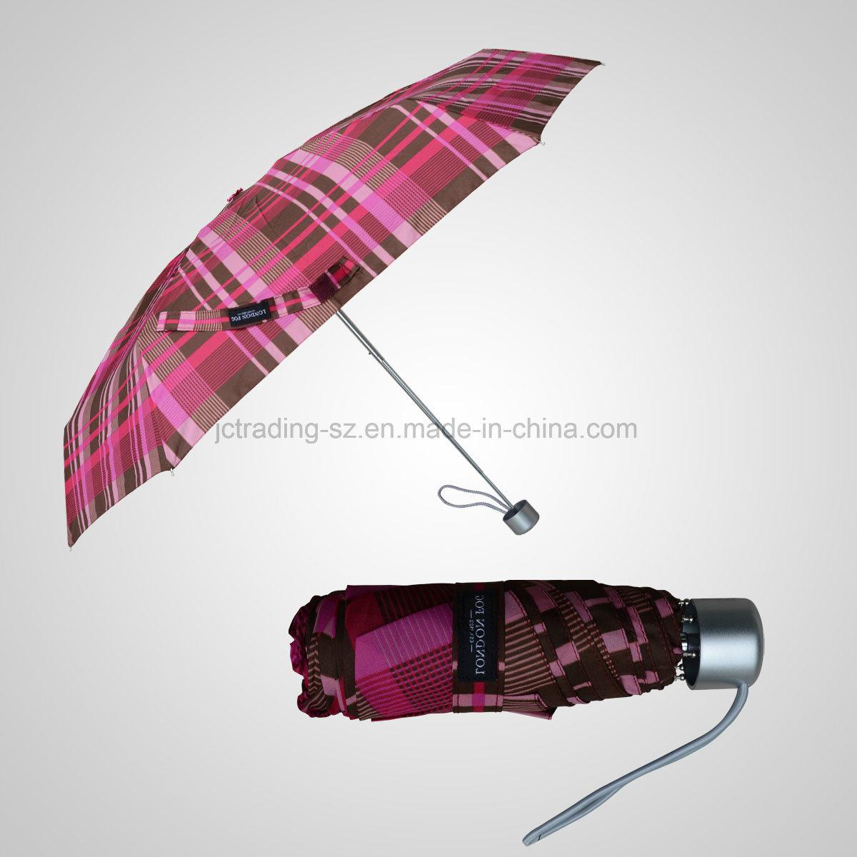 5 Folding Manual Mini Lady Umbrella Rain/Sun Umbrella (JF-MLF501)