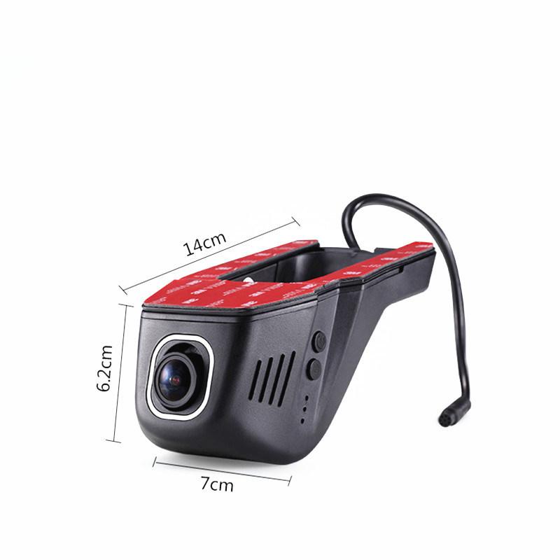 Hidden FHD 1080P WiFi APP Car DVR Dash Cam Night Vision Car Camera Black Box with Novatek 96658 Chip and Sony