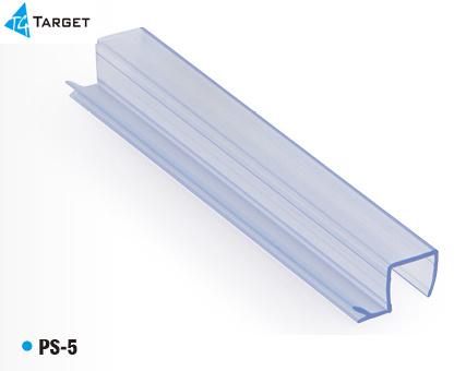 Window u0026Door Seal/PVC Glass Shower Door Sealing Strip (PS-5)  sc 1 st  Target Hardware Factory Co. Ltd. & China Window u0026Door Seal/PVC Glass Shower Door Sealing Strip (PS-5 ...