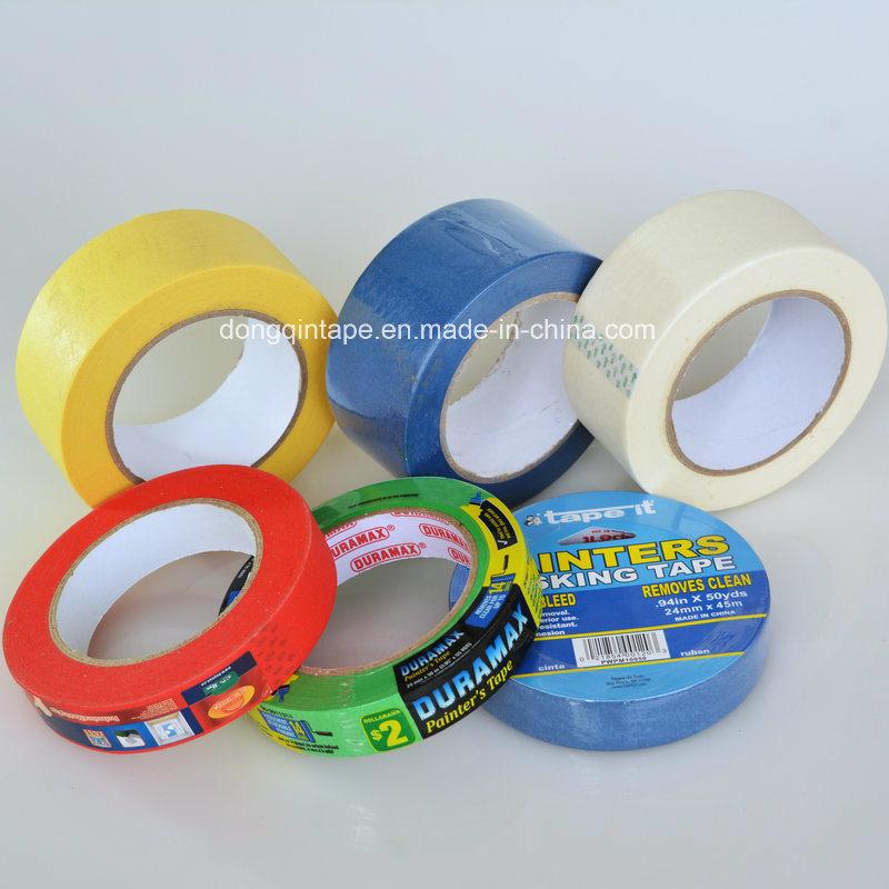 China Manufacturer Automotive Masking Tape