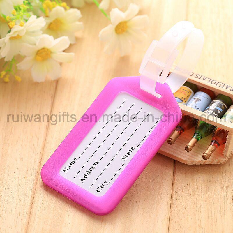 Colorful Travel Luggage Tag PVC ID Tag