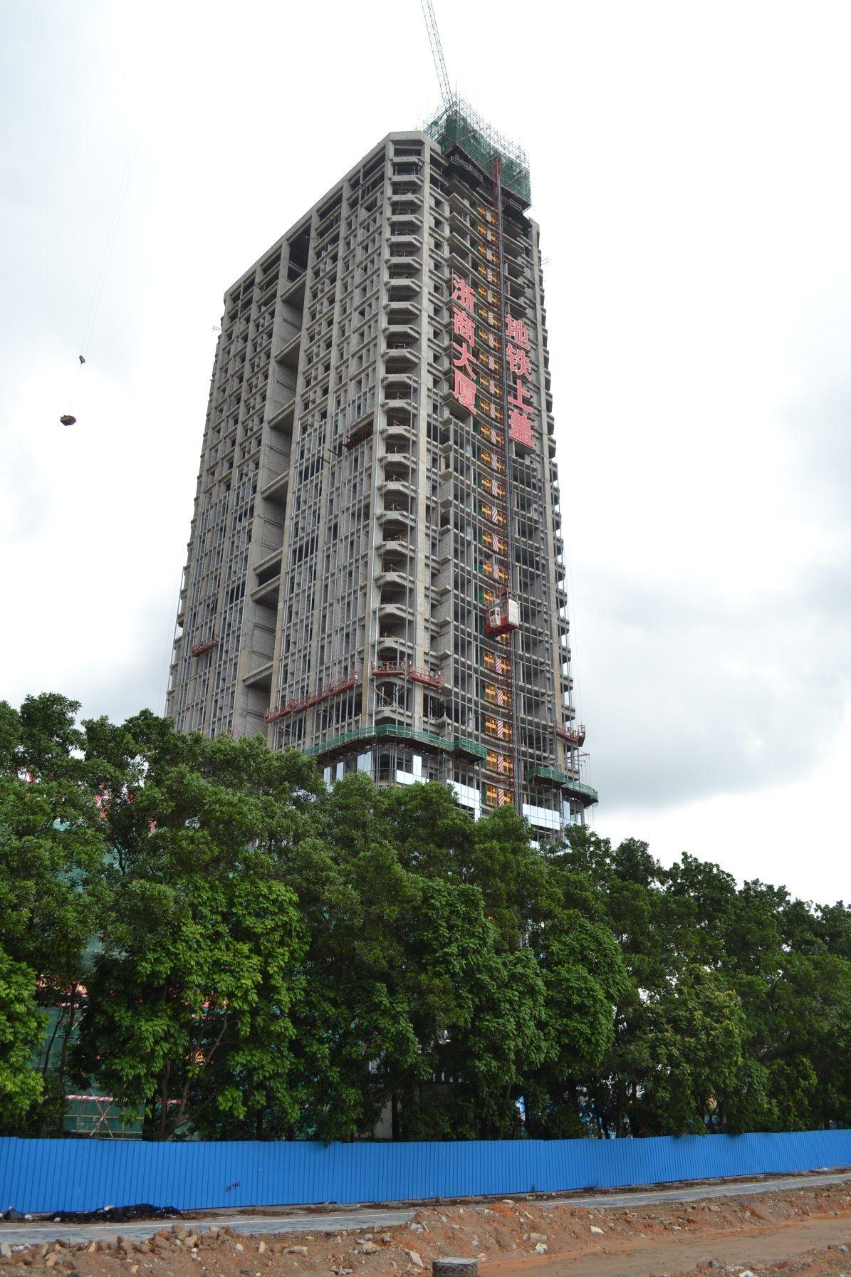 Qtz100 (TC6513-6) Good Quality Hydraulic Tower Crane