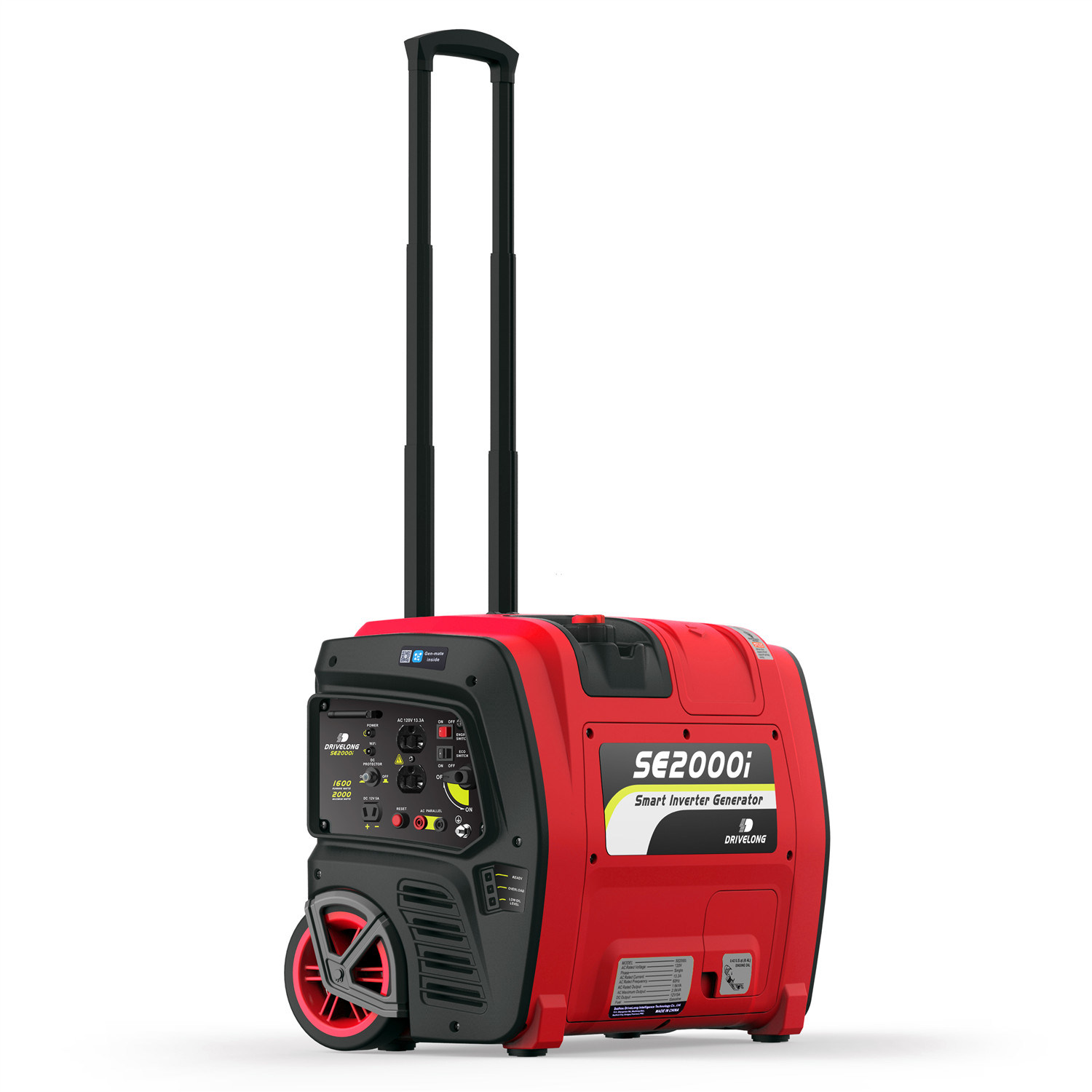 2kw Portable Inverter Gasoline Generator