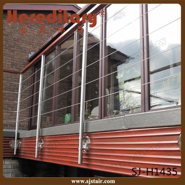 Indoor 304/316 Stainless Steel Balustrade Baluster for Stair or Balcony (SJ-601)
