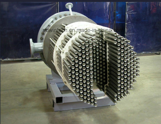 Silicon Carbide Shell and Tube Heat Exchanger Replace Traditional Graphite Heat Exchanger, Resistance Corrosion for Strong Acid and Alkali