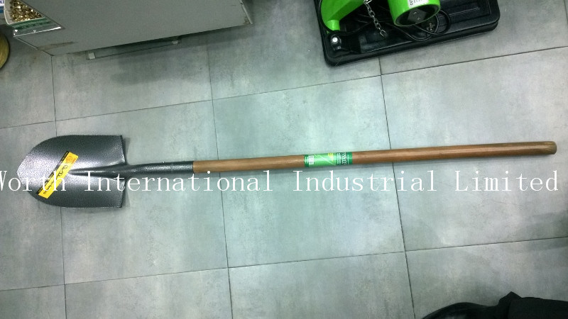 Long Wooden Handle Shovel S518L for Middle East