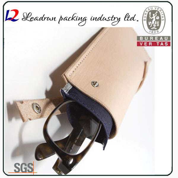 Eyeglass Leather Pouch Sunglasses Case (X09)
