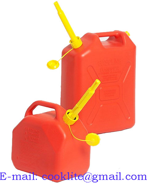 Plastic Fuel Petrol Diesel Jerry Can Gasoline Water Oil Canister