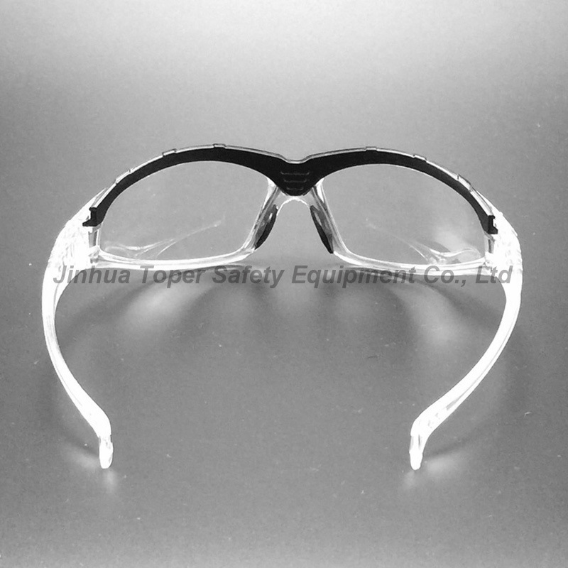 Sport Type Clear Polycarbonate Lens Safety Eyewear (SG117)
