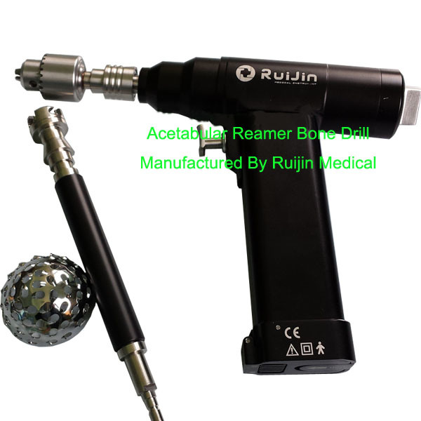 Orthopedic Power Tools Cordless Slow Speed Acetabulum Reaming Hand Drill (ND-3011)