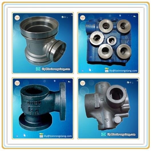 Cast Iron Valve Parts, Impeller Valve for Pump