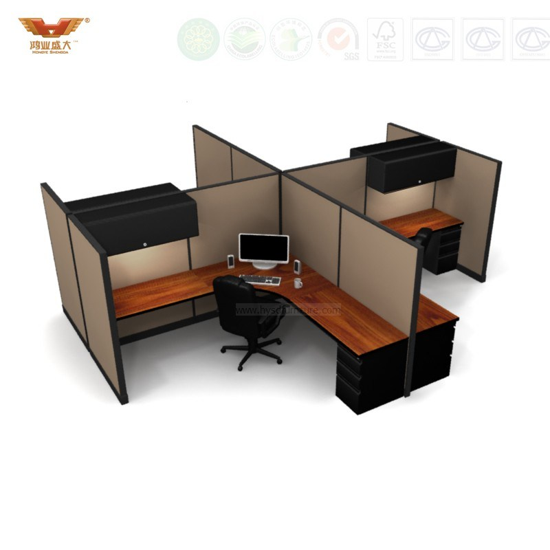 Small Big Office Room Office Workstation, Green Office Partition/Office Desk