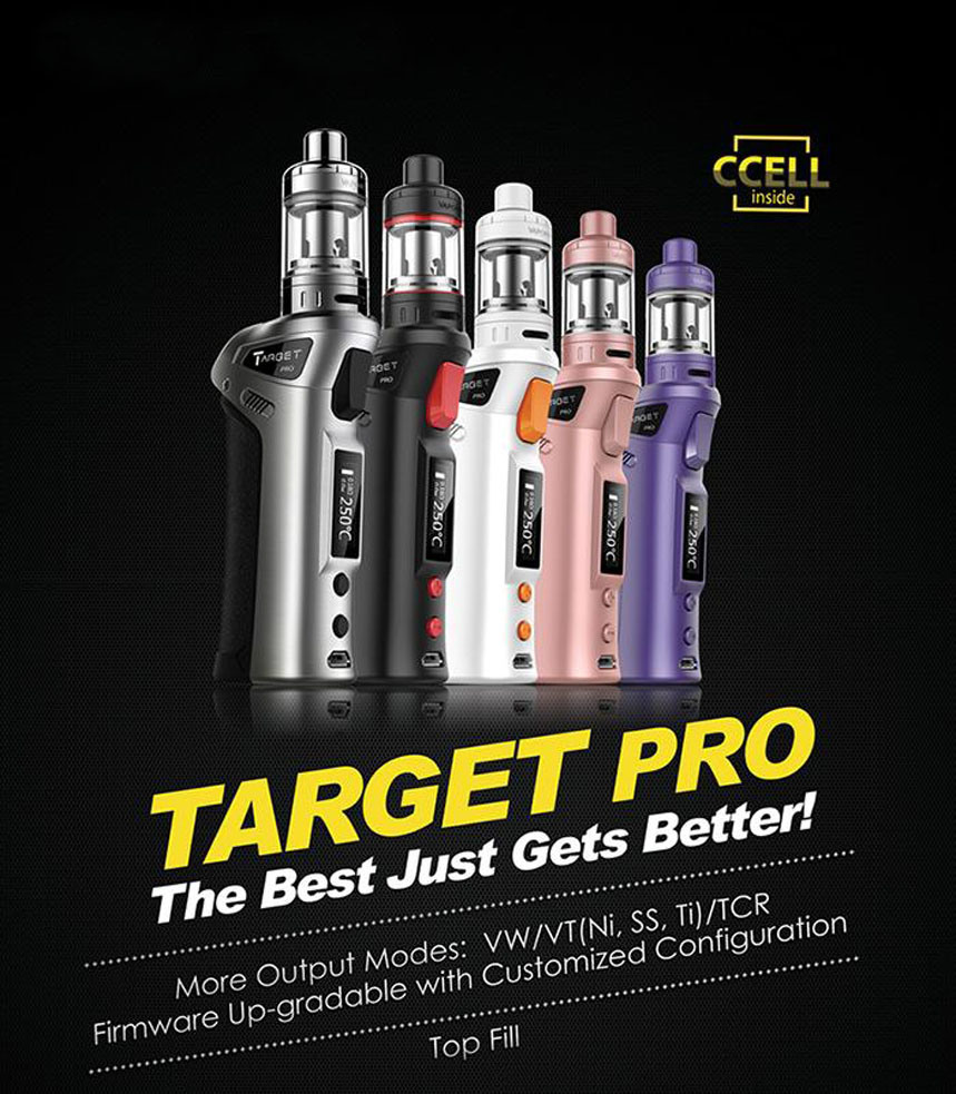 Vaporesso Target PRO Starter Kit Vtc 75W Replacement Ccell