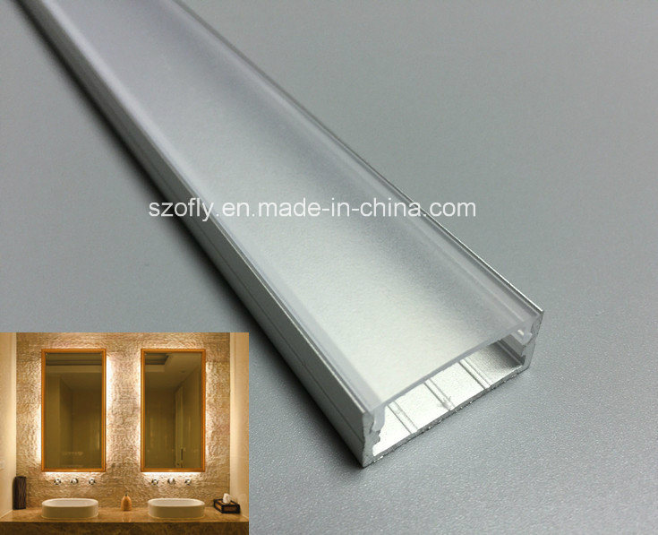 Aluminum Profile for LED Strip Lgihts SMD 5050, 3014