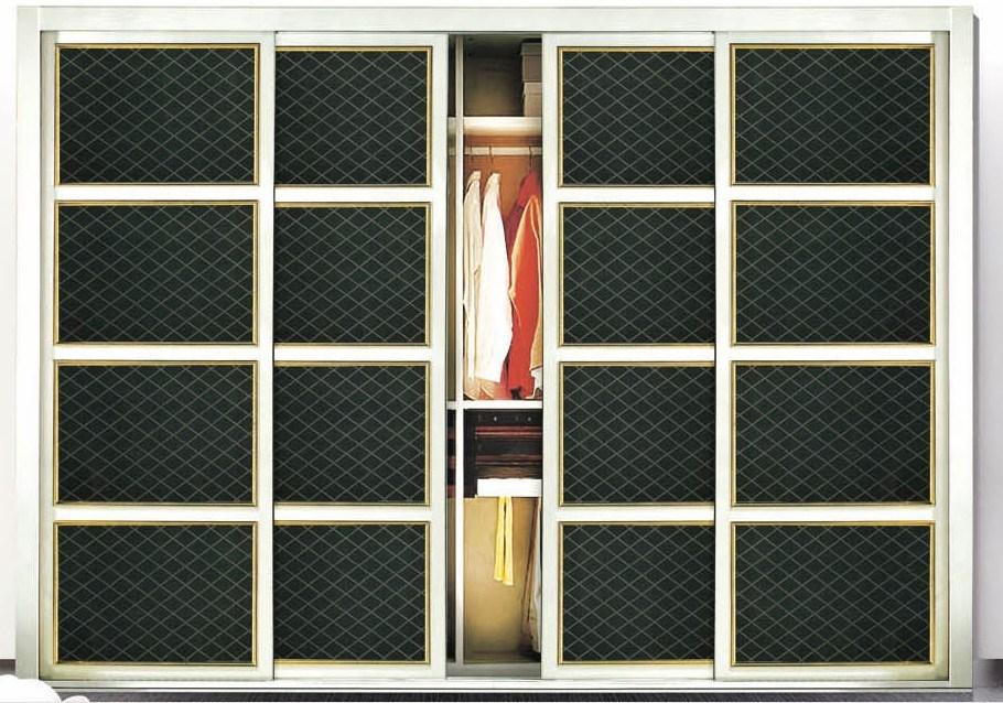 porte coulissante de cuir d 39 unit centrale pour la garde robe 2444 2 porte coulissante de cuir. Black Bedroom Furniture Sets. Home Design Ideas
