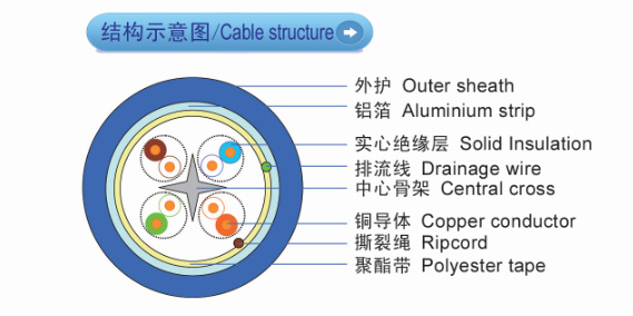 FTP CAT6 Ethernet LAN Cable with High Quality From Cable Manufacturer