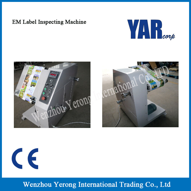Best Price Em Series Label Inspecting Machine with Ce