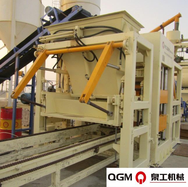 China Best Selling&German High Technology Full Automatic Brick Machine (QT10)