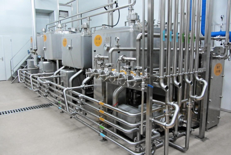 10t/H Fresh Milk Production Line