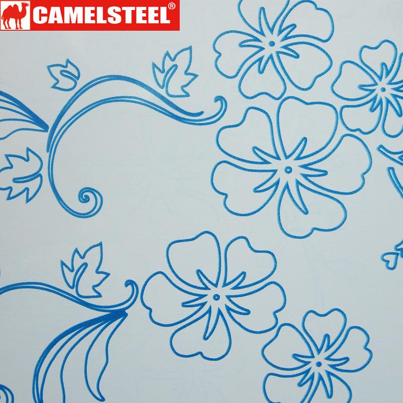 Flowers Pattern PPGI for Decoration