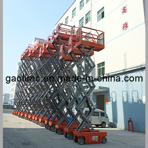 Self-Propelled Forklift with CE Standard