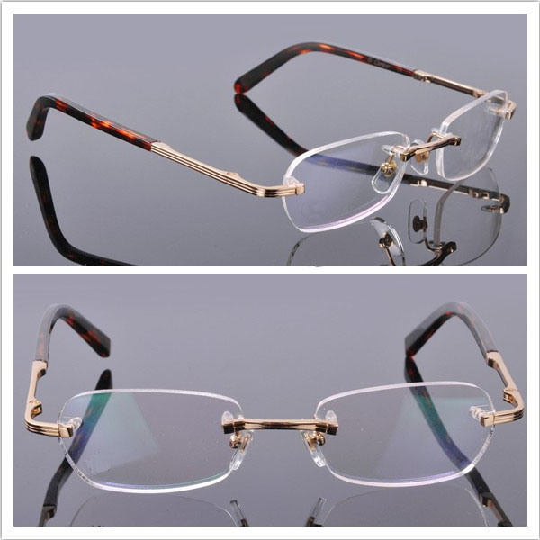 Rimless Glasses Style : Rimless Frames / Mens Style / High Quality Glasses ...