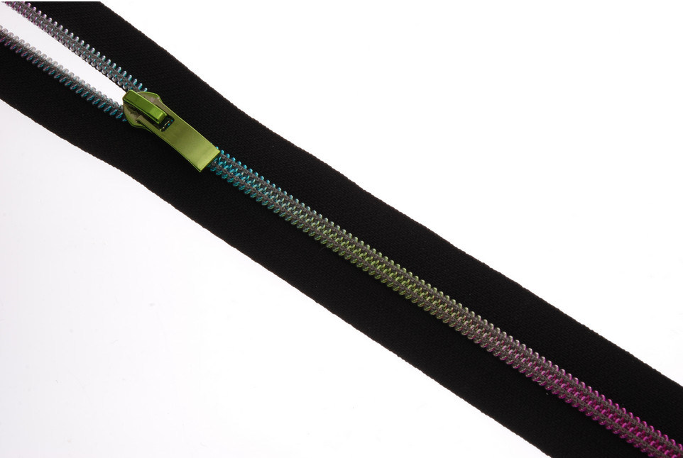 High Quality Rainbow Teeth Nylon Coil Zipper