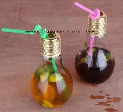 Hot Sale Lamp Glass Bottle/ Spray Colors Bottle with Metal Cover
