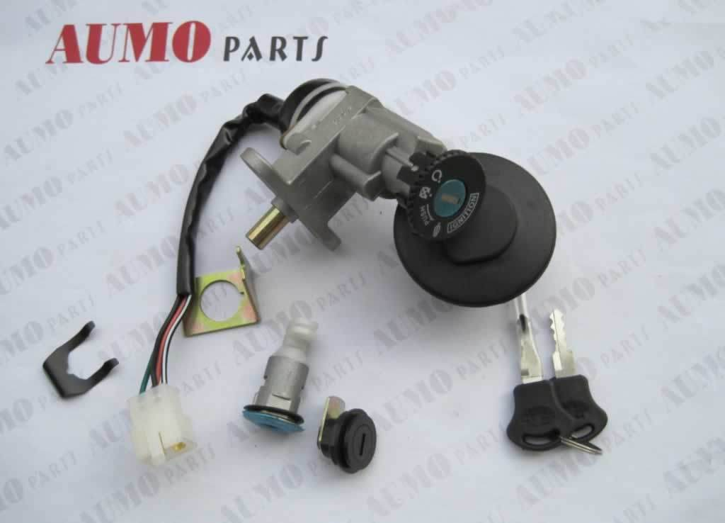 Motorcycle Main Switch Lock Set for Baotian Bt49qt-12