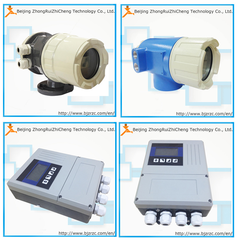 Modbus-RS485 LCD Display Good Price Magnetic Flow Meter Transmitter with Pulse Output