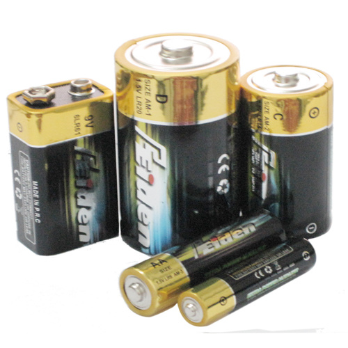 China Alkaline Dry Batteries (1.5 V AA LR6 AAA LR03 D LR20 ...