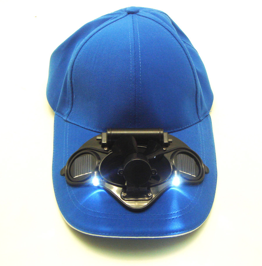 China Baseball Cap With Solar Fan And Leds Dsc 8 China