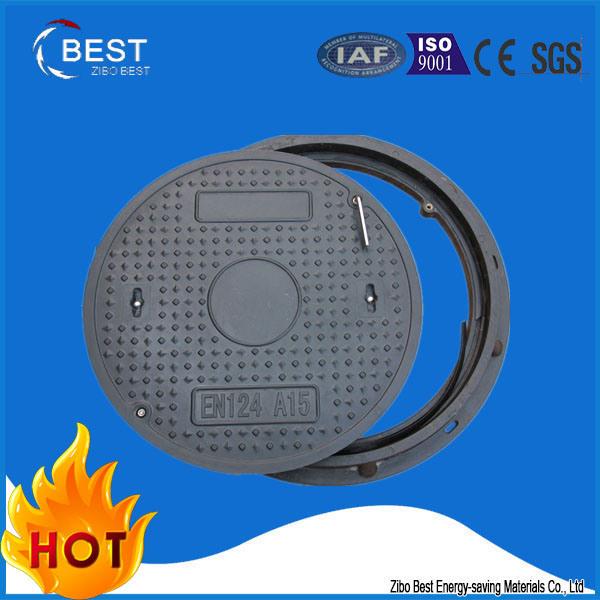 A15 Round En124 SMC Composite Sewer Manhole Cover
