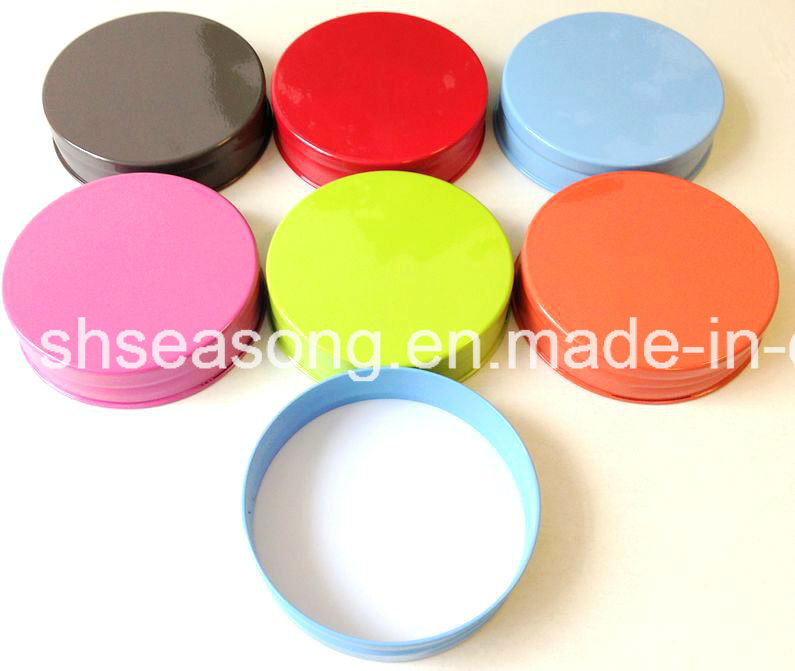 Mesh Lid / Metal Cap / Bottle Cap with Color Coating (SS4509)