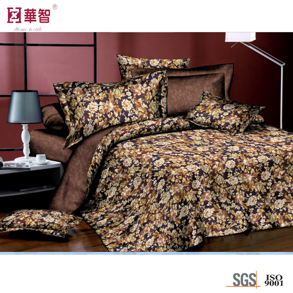 Brushed Polyester Bedding Sets, Bed Hometextile