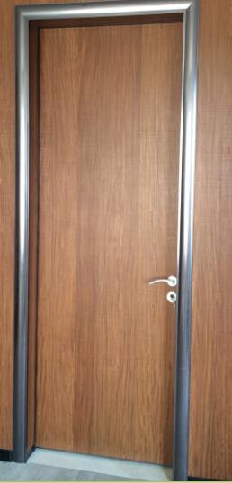 Wood Entrance Door, Aluminum Timber Door, Interior Wooden Door