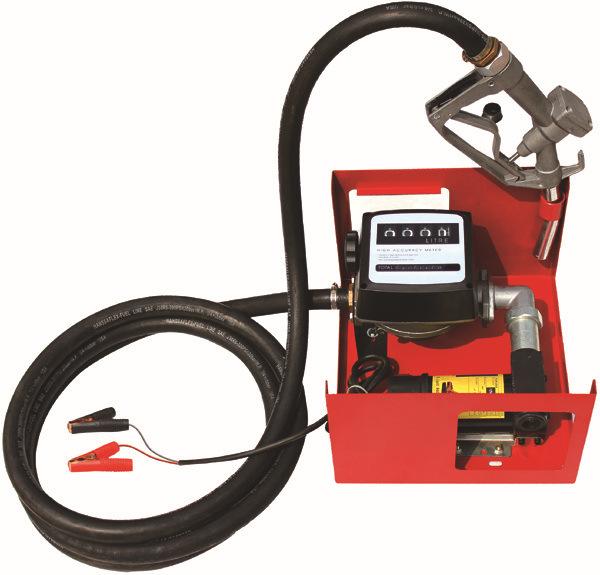 12V/24V Metering Diesel Transfer Pump / Mini Diesel Fuel Oil Dispenser