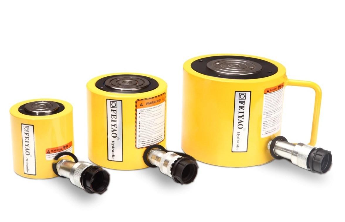 China Flat Jack 30t Hydraulic Cylinders Jack Ram Fy Rsm