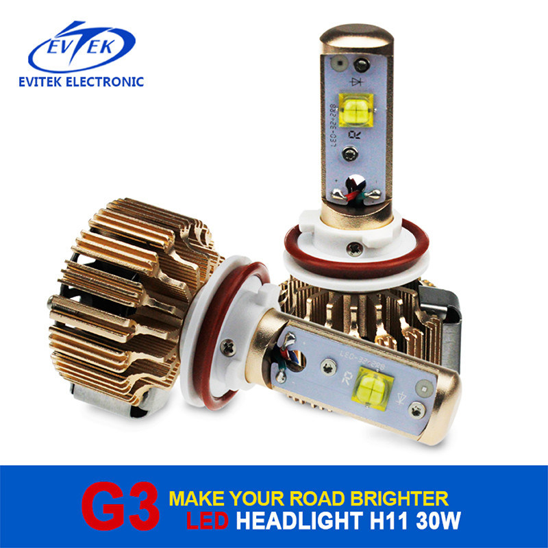 2016 New Arrival LED Headlight H11 30W 3000lm