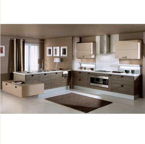 China Top Design Kitchen Cabinet, Germany PVC