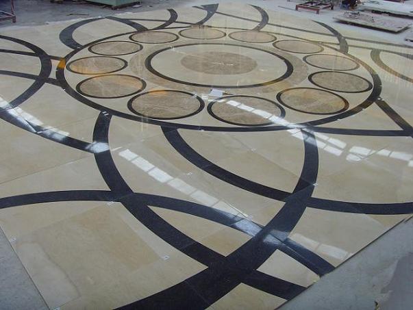 Marble Floor Marquetry : China marble inlay floor f