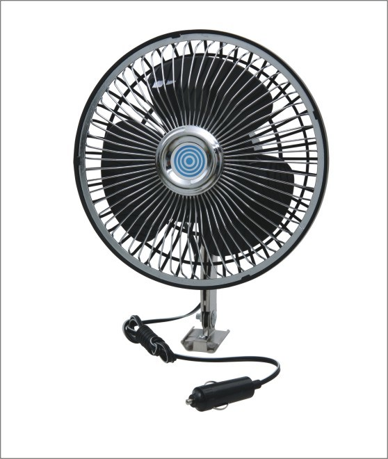 DC Metal Front Rear Plastic Fan
