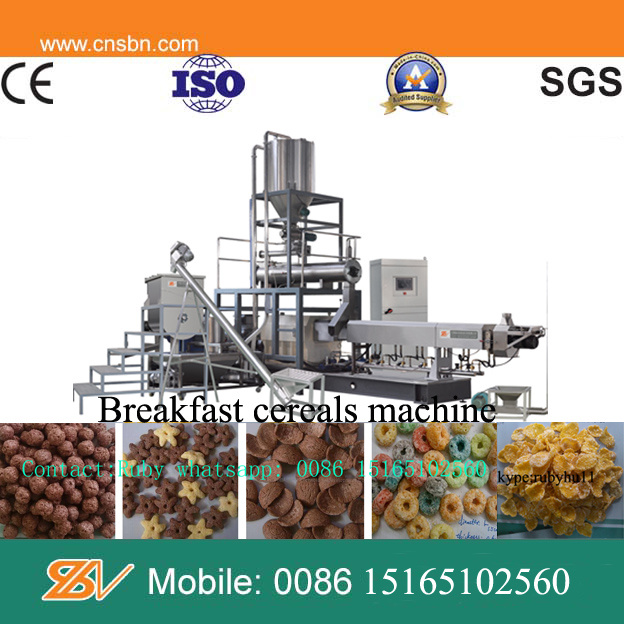Automatic Crispy Corn Snacks Extruder Machine