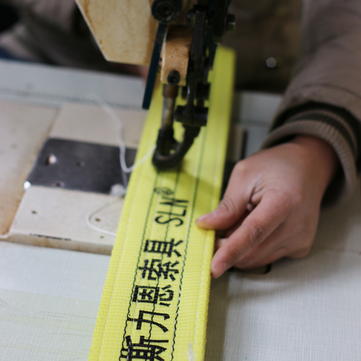 100% Polyester Webbing Sling Lifting Webbing Belt